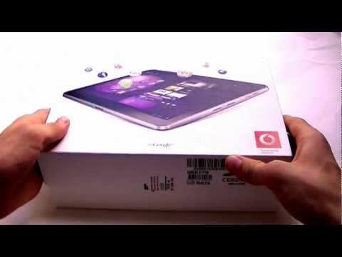 Dutch: Samsung Galaxy Tab 10.1v unboxing