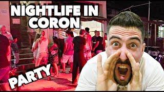 CRAZY NIGHTLIFE in CORON PALAWAN | BARS & RESTAURANTS!