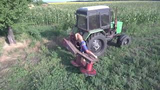 MTZ 82 in hay mowing with Biardzki Z 169 mower