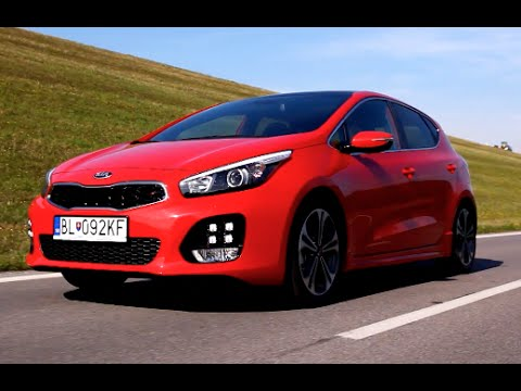 new kia cee 39 d gt line 2016 first test drive youtube. Black Bedroom Furniture Sets. Home Design Ideas