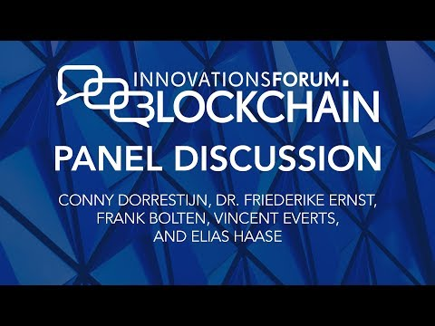 Innovationsforum Blockchain - Panel Discussion @ Blockchain Day