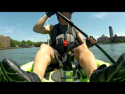 Kayaking the East River