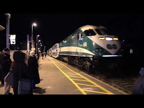 The Inaugural Run Of GO Train# 704 Niagara Falls To Toronto 2019-01-07