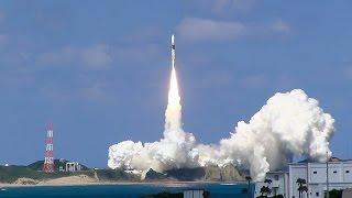 H2Aロケット25号機が2014年10月7日午後、鹿児島県の種子島...