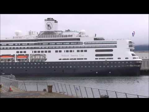 MS Rotterdam stops off at Belfast on way to Canada