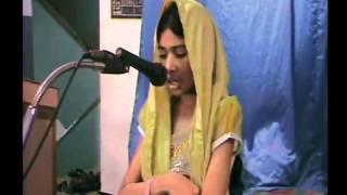 "Aafia Fazal Qirat ""Waqf-e-Nou Ijtema Chennai-2012 Tamilnadu (North zone)"""