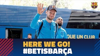 Trip to Sevilla ahead of LaLiga match against Betis