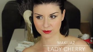 Makijaż Lady Cherry - Project Runway Be What You May Be