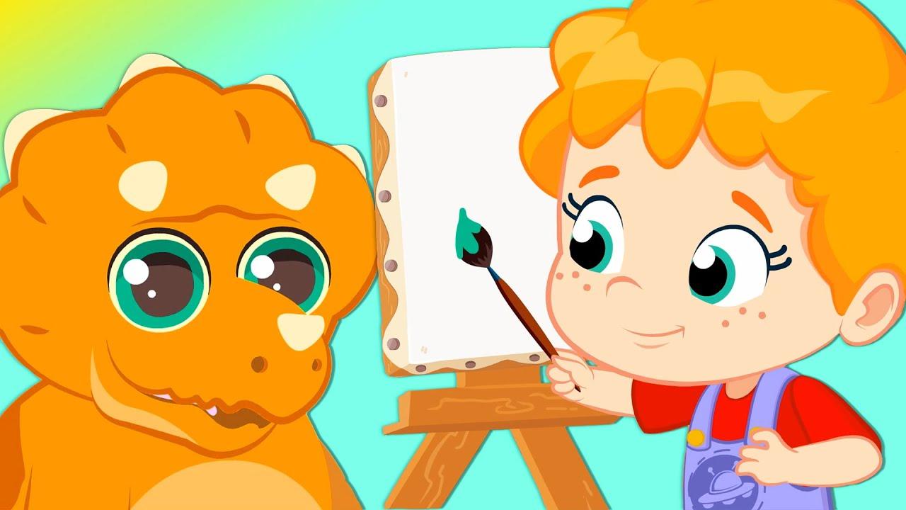 NOUVEL ÉPISODE! Groovy Le Martien & Phoebe | Découvrez les dinosaures dans une aventure passionnant