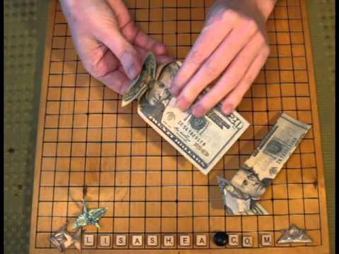 Origami Money Arrow Instructions Youtube