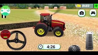 لعبة محاكاة قيادة جرار عربة الزراعة | العاب سيارات | سيارات اطفال screenshot 3