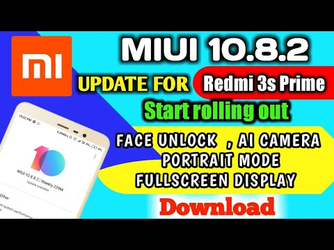 MIUI 10 1 1 0 Start Rolling Out Redmi 3S Prime OTA and Full