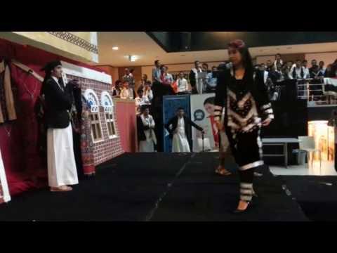 Yemeni Fashion Show at Asia Pacific University  (APU)ازياء يمنيه في ماليزيا في جامعه APU
