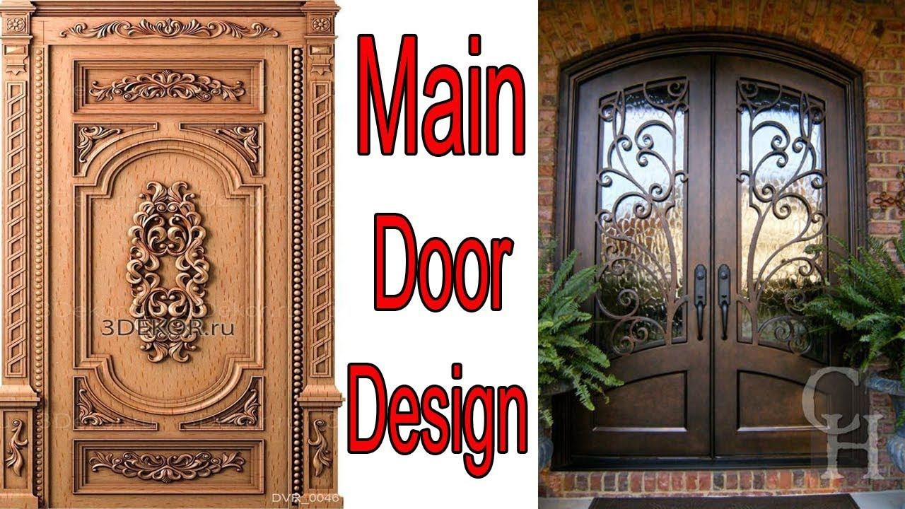 Main Door Design Wooden In Pakistan For Home / House   Door Design Ideas In  India
