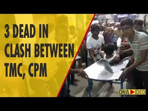 3 dead in massive clashes between TMC and CPM in West Bengal