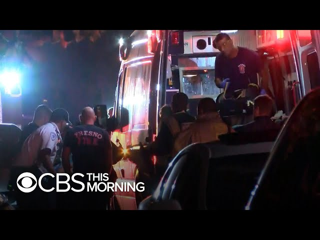 California shooting: 4 killed in backyard gathering ambushed by gunfire