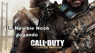 Call of Duty Advance Warfare:  Noob jogando Multiplayer!