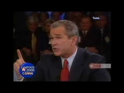 bush against gay marriage