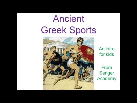 Ancient Greek Sports - an intro for kids - Sanger Academy