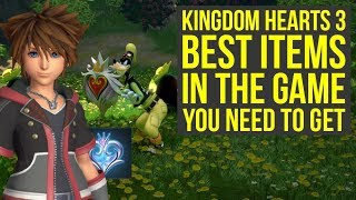 Kingdom Hearts 3 Tips And Tricks - BEST ITEMS In The Game You Need To Get (KH3 Tips And Tricks)