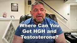 How Do You Get Testosterone and HGH?