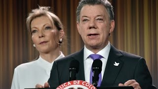 Colombian President Wins Nobel Peace Prize for Attempts to End Civil War