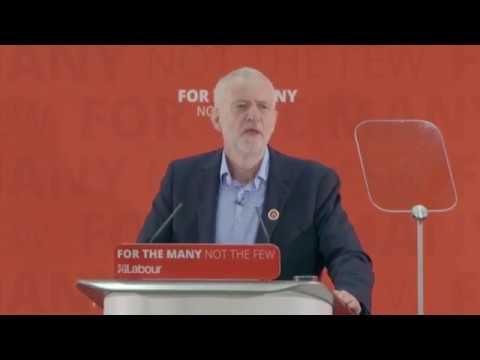 Jeremy Corbyn's #ClaimYourFuture Speech (Full)