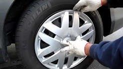 Hubcaps Wheel cover installation