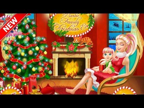 Barbie Family Christmas Eve Games For Babies Kids & Children