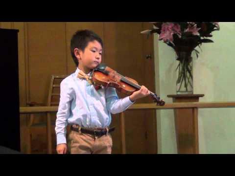 Huber Concerto in F Major - Christian Li (6 years