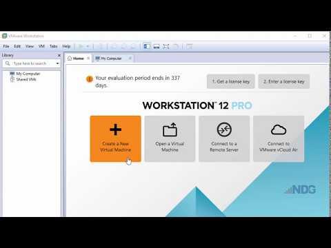 Create a Virtual Machine in VMware Workstation Pro