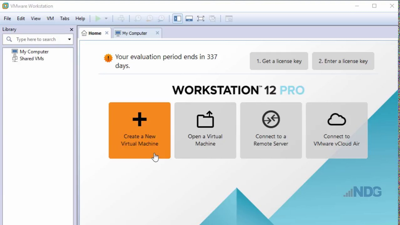 Create a Virtual Machine in VMware Workstation Pro