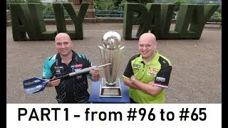 2019 World Darts Championship - All the players from #96 to #65