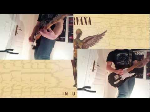 Nirvana - Frances Farmer Will Have her Revenge on Seattle (HQ Guitar Cover) [HD] with tabs