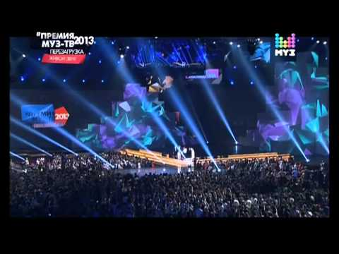 PSY in Russia Moscow MuzTV 2013 Live Gentleman Gangnam Style