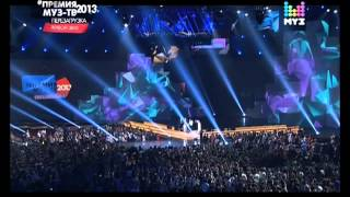 Repeat youtube video PSY in Russia Moscow MuzTV 2013 Live Gentleman Gangnam Style