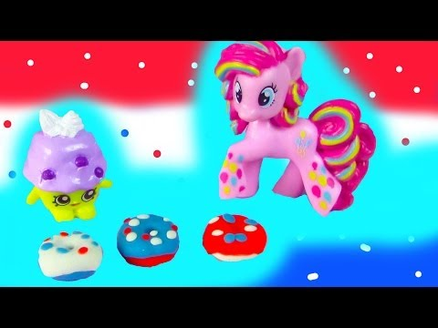 mlp-pinkie-pie-fourth-of-july-donuts-playdoh-diy-food-shopkins-baking