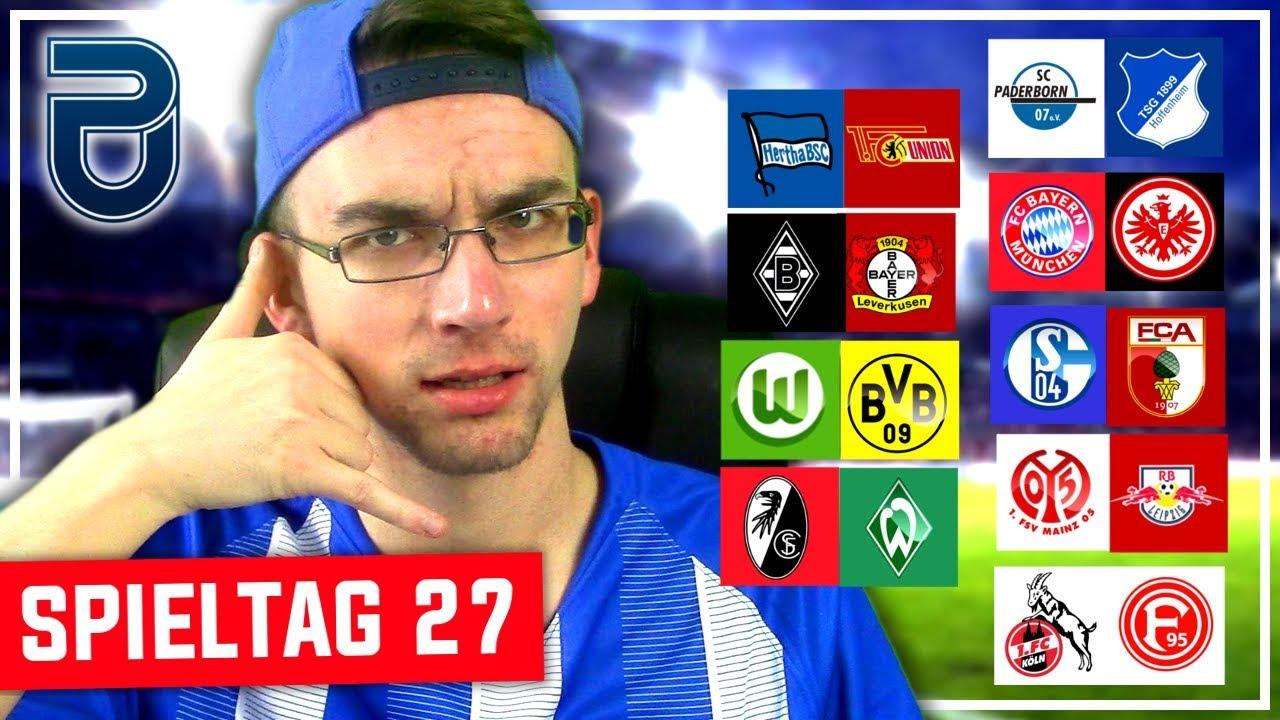 Bundesliga Spieltag 27