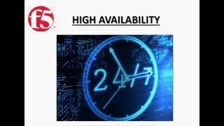 F5 High Availability/Failover process