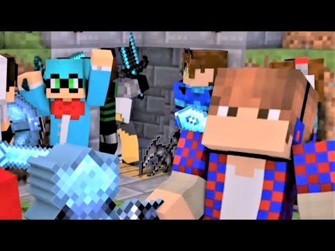"""Minecraft Songs And Minecraft Animations """"Like A Boss"""" Castle Raid Part 3 - Top Minecraft Songs"""