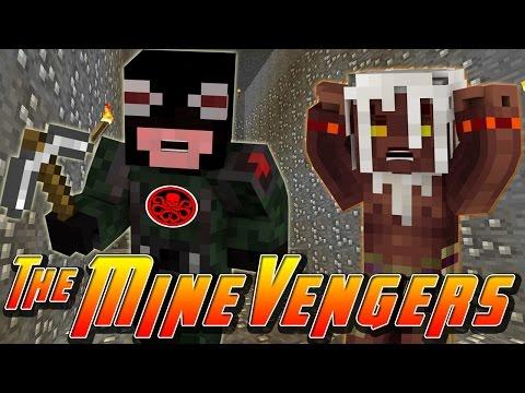 Minecraft MineVengers - CRAZY SECRET ON SPOOKY ISLAND!!