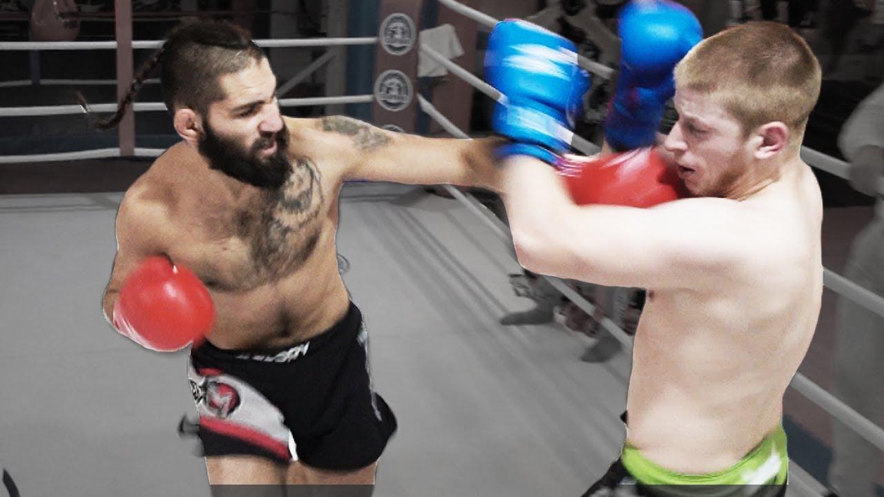 Ушу Мастер против жесткого Бойца из Морга / Он хочет стать чемпионом UFC