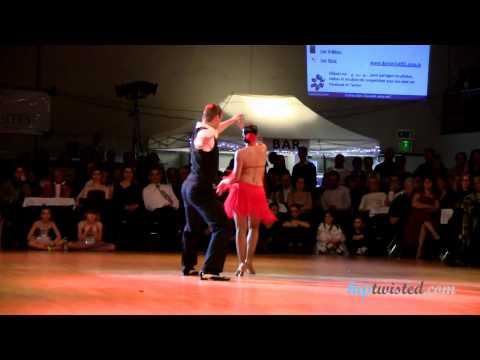 Salsa show Jakub Mazuch - Michaela Gatekova, Nuit de la Danse 2012, World salsa champions