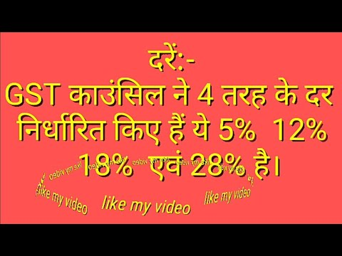 Gst Bill In Hindi Pdf 2018