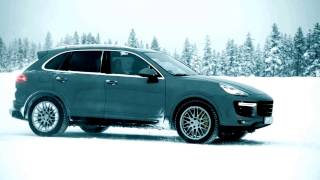 Porsche Cayenne Turbo S 570 HP interview with Walther Röhrl in German Promotional film from Porsche