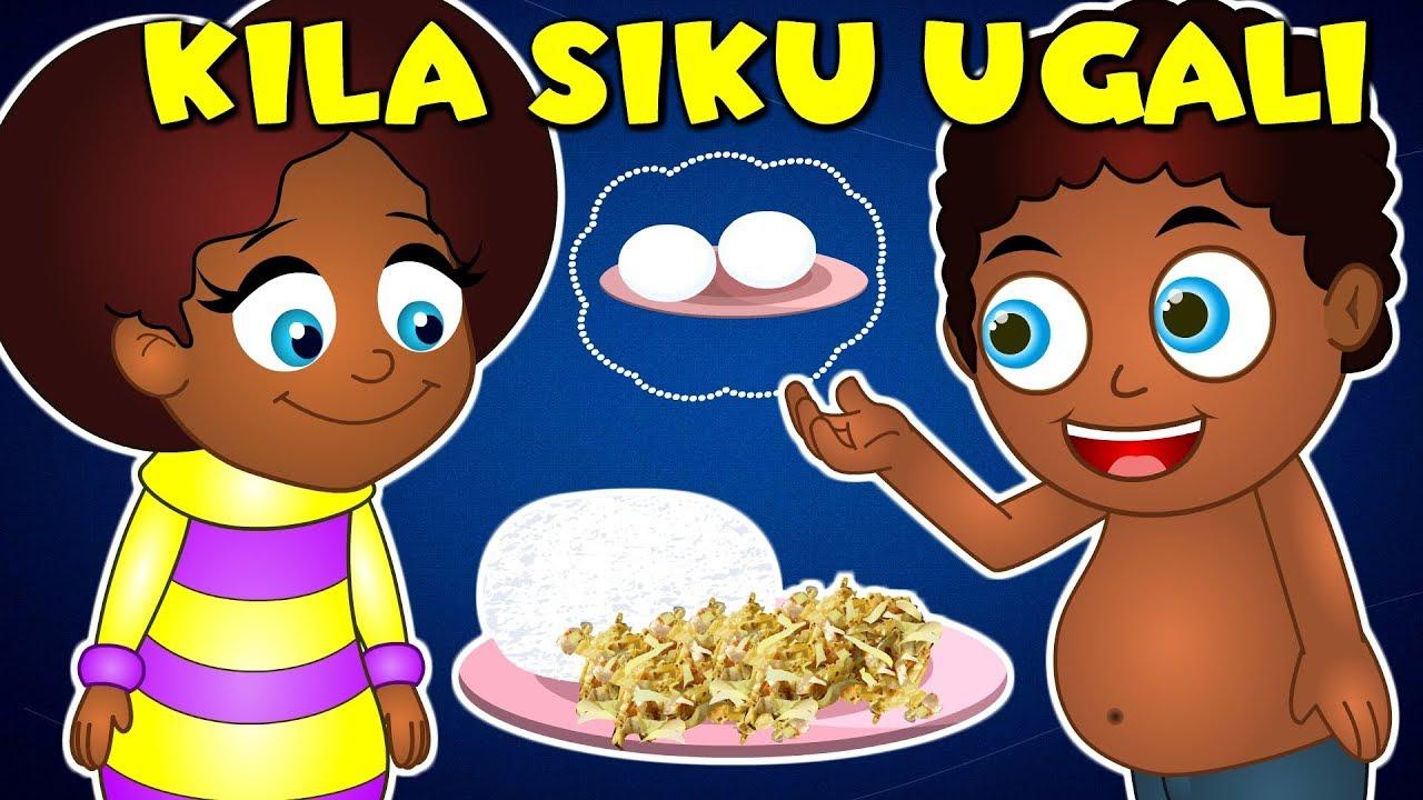 Download Kiswahili Songs for Preschoolers | KILA SIKU UGALI - Mama nipe mayai | na nyimbo nyingi kwa watoto