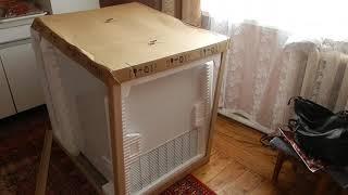 Морозильный ларь Zanussi ZFC 26400 WA  распаковка и обзор