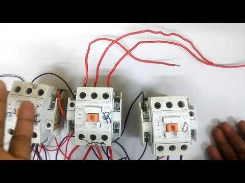 auto star delta motor connection full video. very easy method of auto star delta motor connection