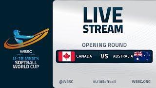 Canada v Australia - U-18 Men's Softball World Cup 2020 - Opening Round
