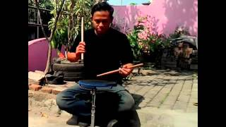 40Days40rudiments Quick Drum Lesson Single Stroke by Fanydupex